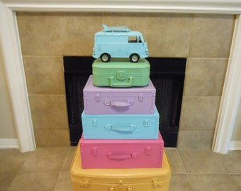 JEZ4U Vintage Stack of Suitcases Special Order only