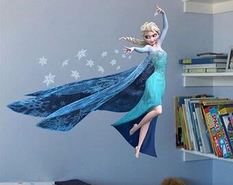 Elsa Frozen Wall Decal