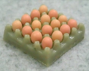 Miniature A Tray Of Eggs