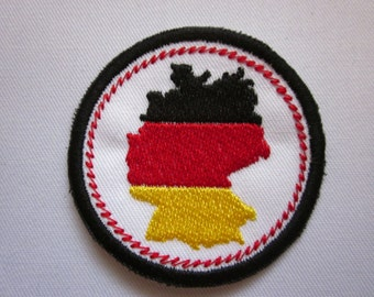 """Germany Merit Badge  2"""" Iron or Sew On Patch"""