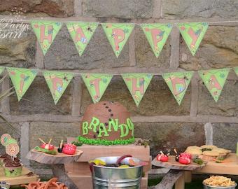 Bug Birthday Banner/Bunting