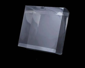 3 Clear Plastic Box