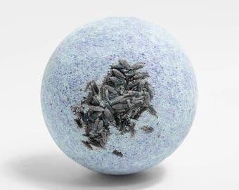 Lavender Bath Bomb - Bath Fizz - Bath Fizzy - Relaxing Bath - Bath Soak - Handmade and Natural - Vegan - Cruelty Free - Bath and Body