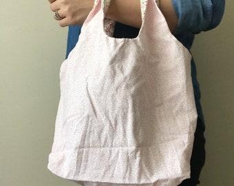 Light Pink Paisley Bag
