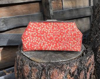 Vintage Kimono Silk Clutch