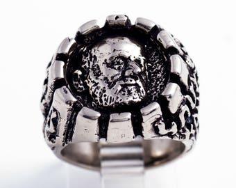 Komitas Sterling Silver Ring