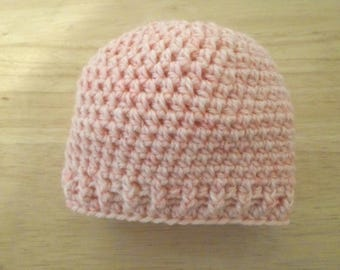 Baby Hat - Crochet Baby Hat for a Newborn Baby - Baby Hat for up to 3 Month