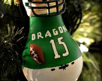 Football Player Ornament