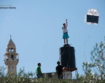 Flying Kites to commemorate the Nakba