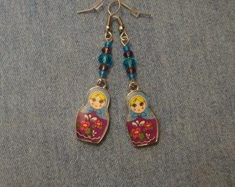 Beautiful Matryoshka Earrings
