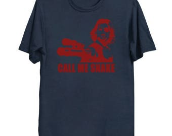 Escape from New York: Call Me Snake (red on color)  T-Shirt