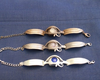 Interactive Eye of Horus / Kinetic Eye of Ra bracelet