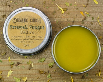FAREWELL FUNGUS SALVE | Anti-Fungal Salve | Effective Relief for Ringworm, Athlete's Foot, External Yeast Infections, Toe Fungus