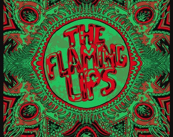 The Flaming Lips Official Screen Printed Gigposter - Levitation Festival - Austin, TX