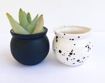 Small Handmade Ceramic Pots