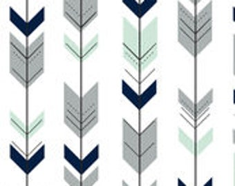 Arrow Crib Skirt - 2 color options