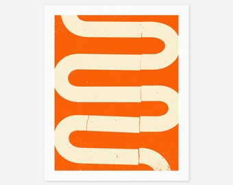 GOING #2 (Giclée Fine Art Print/Photo Print/Poster Print) Modern, Minimal, Abstract Artwork