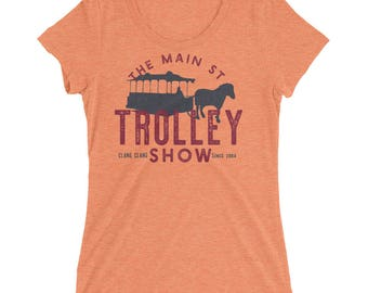 Main St Trolley Show Ladies' short sleeve t-shirt