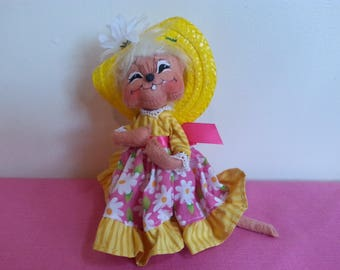 Vintage Annalee Spring Mouse!