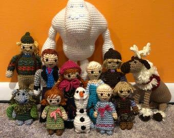 Frozen Crochet Amigurumi