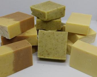 Half Price Natural, Handmade Soap Misshapes 50% off