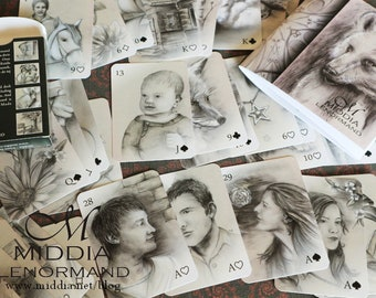 Middia Lenormand 2 Oracle Cards - Poker Size