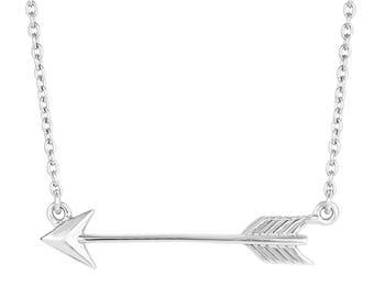 """Arrow Pendant Necklace (18"""")"""