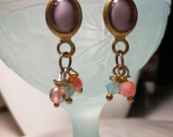 Earrings vintage beads