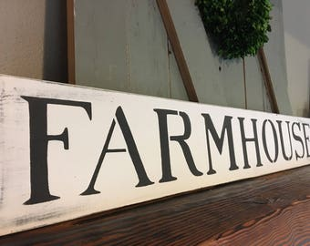 Farmhouse sign, farmhouse decor, rustic