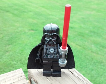 Star Wars Darth Vader Custom Sith Minifigure Size and Compatible New