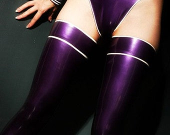 Natalie Latex Stockings