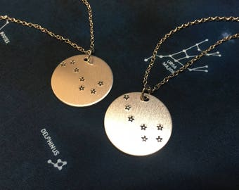 Big and Little Dipper Necklace Set - Big and Little Necklace - Bff Necklaces - Sorority Big and Little - Sorority Gift - Big Dipper Jewelry