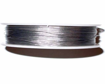 1 reel of 0.45 mm silver grey Cable reel 100 m