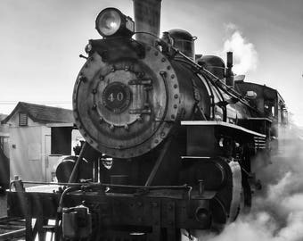 Black And White Photography - Iron Horse