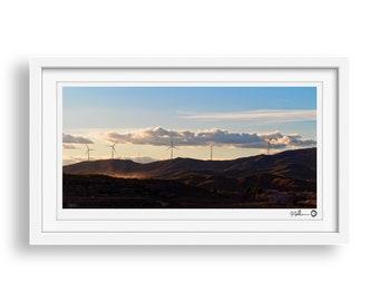 Wind Farm - Landscape Photography Print