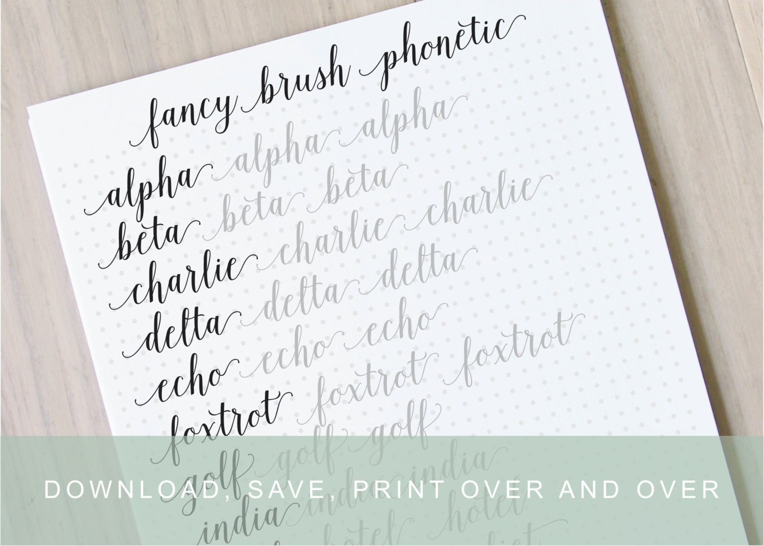 printable calligraphy practice worksheets | BILL'S SPACE