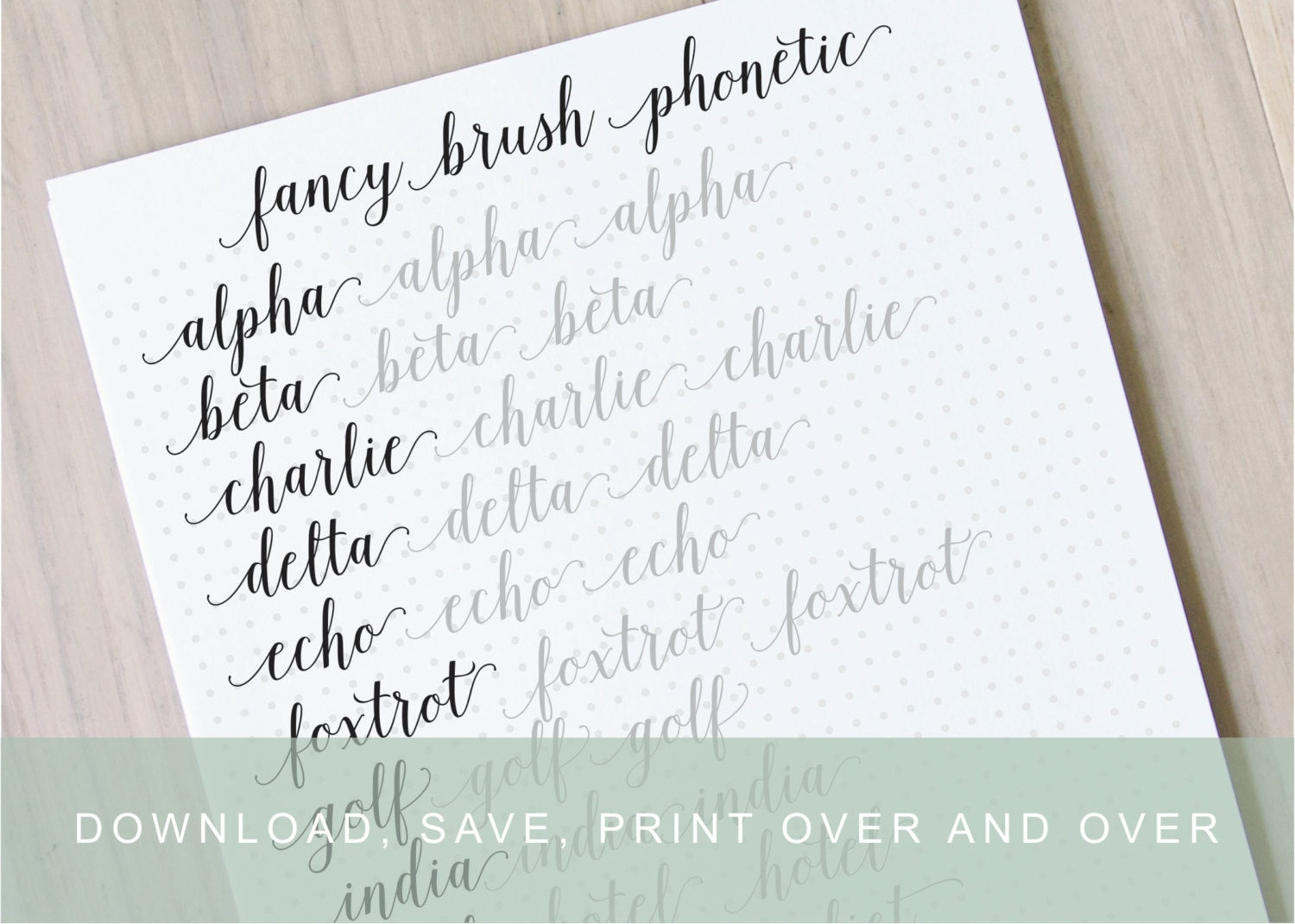 Brush Lettering Practice Guide: Inspirational Quotes – The White Pad