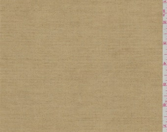 Golden Tan Print Ultrasuede, Fabric By The Yard