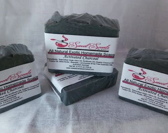 Activated Charcoal Soap (5.5-6.0 oz)-1 Bar