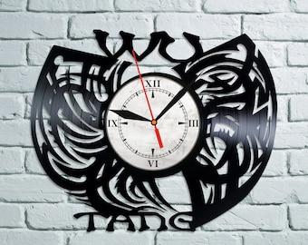 Wu-Tang Vinyl Record Clock Wu-Tang Wall Decor Wu-Tang Art Wu-Tang Decoration Wu-Tang Decor Wall Clock Wu-Tang Gift For Fans Hip Hop Group