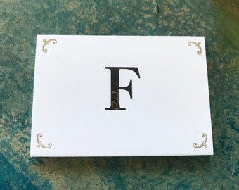 F Cards - Limited Edition Hand Letterpress Printed Pack of 20 cards (warning vulgar language)