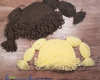 Cabbage Patch Doll Hat - Photo Prop