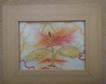 Hand felted flower Picture - 2003