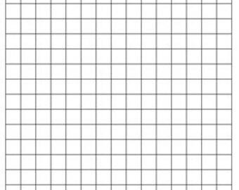 FREE DIGITAL DOWNLOAD of graph paper