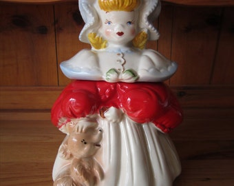 Goldilocks Cookie Jar by Regal China circa 1940's