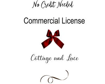 Commercial License - No Credit Required - Two Products