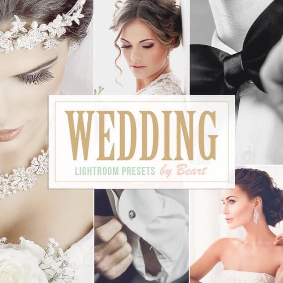Hochzeits-Lightroom Presets professionelle Kollektion