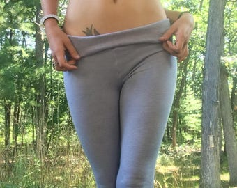 Organic hemp cotton leggings