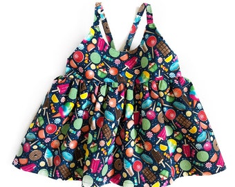 sugar rush top - kids candy outfit