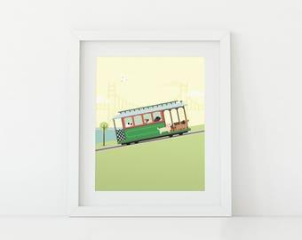 Darby + Dot™ - San Francisco Adventure - Art Print